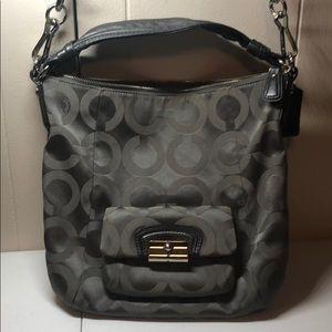 Grey Coach Crossover bag